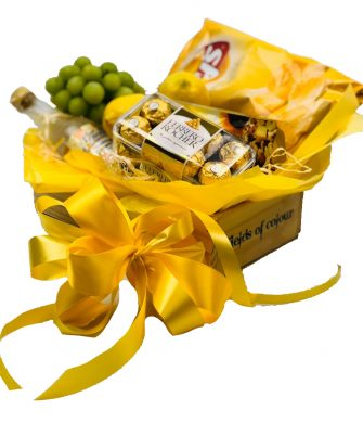 Yellow Gift Hamper