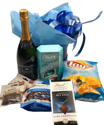 Blue Hat Box Hamper